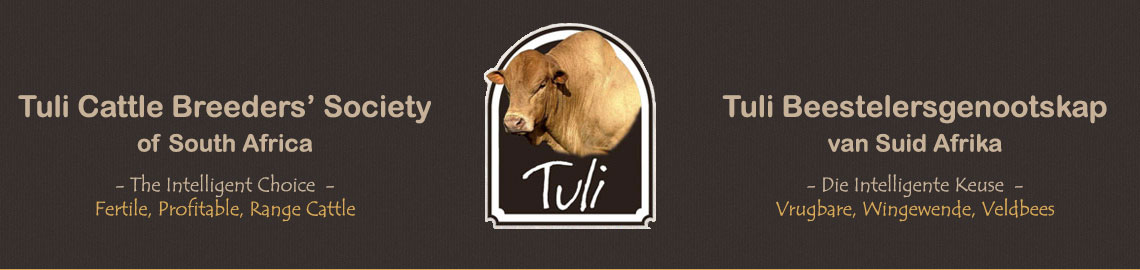 Tuli Cattle Breeders' Society of South Africa Inspectors